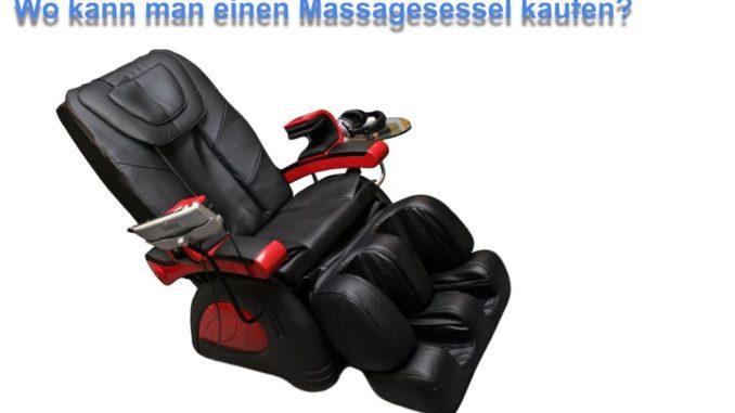 Wo kann man einen Massagesessel kaufen?